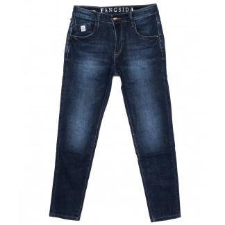 5078 Fangsida джинсы на мальчика синие осенние стрейчевые (24-30, 8 ед.) Fangsida: артикул 1096639
