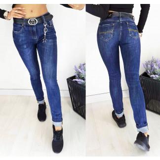 1171 Lolo Blues джинсы женские с царапками осенние стрейчевые (25,25,25,26, 4 ед.) Lolo Blues: артикул 1096462