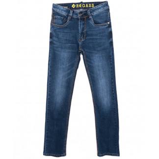 7892-06 Regass джинсы мужские синие осенние стрейчевые (29-38, 8 ед.) Regass: артикул 1096971