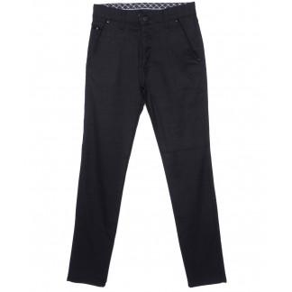 0788-1 New Jarsin брюки мужские темно-синие осенние стрейч-котон (30-36, 8 ед.) New Jarsin,New Jarsin: артикул 1097014