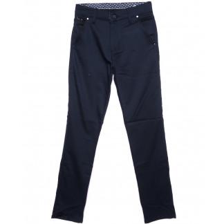 0970-ALT Big Jesuis брюки мужские синие осенние стрейч-котон (29-36, 8 ед.) Big Jesuis: артикул 1097022