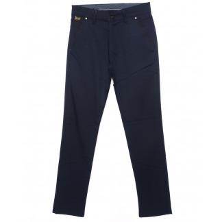 0063-ALT Big Rodoc брюки мужские темно-синие осенние стрейч-котон (30-36, 8 ед.) Big Rodoc: артикул 1097024