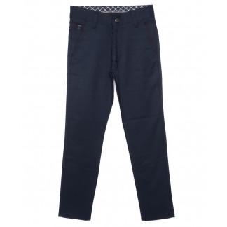 2239-ALB Big Rodoc брюки мужские молодежные синие осенние стрейч-котон (28-34, 8 ед.) Big Rodoc: артикул 1097026