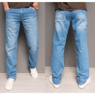 0499 L.V.D. джинсы мужские голубые весенние котоновые (30-36, 6 ед.) L.V.D.: артикул 1097068