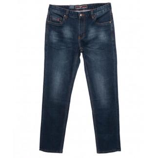 0172 Into джинсы мужские батальные темно-синие осенние стрейчевые (32-38, 8 шт.) Into: артикул 1097226