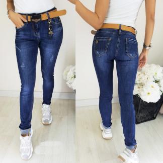 8151 Vanver джинсы женские с ремнем осенние стрейчевые (25-30, 6 ед.) Vanver: артикул 1097288