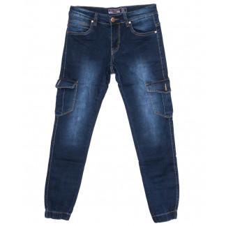 6115 Bagrbo джинсы мужские синие на манжете осенние стрейчевые (29-38, 8 ед.)  Bagrbo: артикул 1097353
