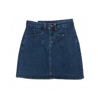 0523 REDMOON юбка джинсовая синяя осенняя котоновая (25-30, 6 ед.)  REDMOON: артикул 1097422