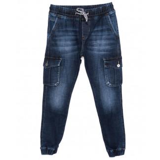 8208 Fangsida джинсы мужские молодежные на манжете синие осенние стрейчевые (28-34, 8 ед.)  Fangsida: артикул 1097416