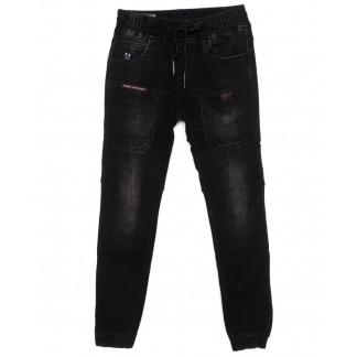 8158 Fangsida джинсы на мальчика на манжете темно-серые осенние стрейчевые (26-33, 8 ед.)  Fangsida: артикул 1097419