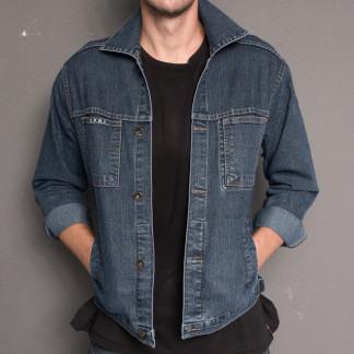 0800 L.V.D. куртка джинсовая на мальчика осенняя стрейчевая (28-31, 4 ед.) L.V.D.: артикул 1097475