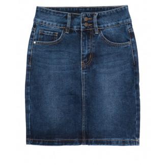 1393 Lady N юбка джинсовая синяя осенняя котоновая (25-30, 6 ед.) Lady N: артикул 1097534