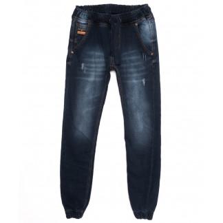 5125 Denim джинсы мужские с царапками на резинке синие осенние стрейчевые (29-36, 8 ед.) Denim: артикул 1097543
