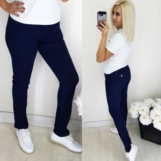 5062 Easy cool джинсы женские батальные темно-синие осенние стрейчевые (30-36, 6 ед.) Easy cool: артикул 1097649