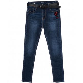9344 LDM джинсы женские батальные синие осенние стрейчевые (30-36, 6 ед.) LDM: артикул 1097788