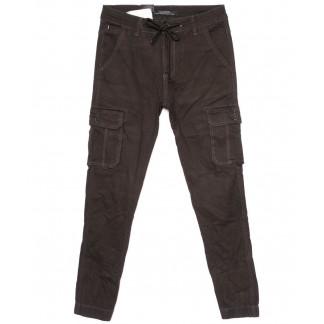 140088 LS брюки мужские молодежные с карманами на резинке осенние стрейчевые (27-34, 8 ед.) LS: артикул 1097695