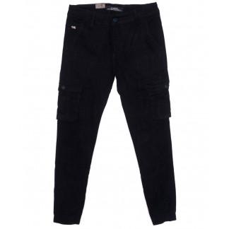 140085 LS брюки мужские молодежные с карманами на резинке осенние стрейчевые (27-34, 8 ед.) LS: артикул 1097698