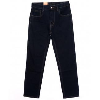 120212 LS джинсы мужские классические темно-синие осенние стрейчевые (30-38, 8 ед.) LS: артикул 1097911