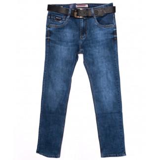 9169 Baron джинсы мужские батальные с ремнем осенние стрейчевые (32-40, 8 ед.) Baron: артикул 1097912