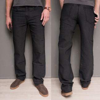 0182-11 Hugo Boss джинсы мужские черные осенние стрейчевые (30-40, 12 ед.) Brand (Copy): артикул 10633399