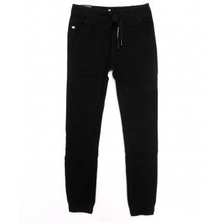 120235-T LS джинсы на мальчика черные на резинке осенние стрейчевые (24-34, 7 ед.) LS: артикул 1098047