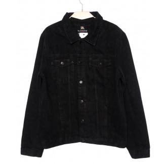 1009 R.Kroos куртка мужская джинсовая черная осенняя котоновая (M-4XL, 6 ед.) R.Kroos: артикул 1098208