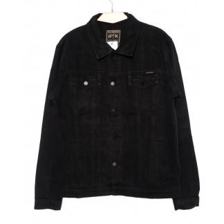 1005 R.Kroos куртка мужская джинсовая черная осенняя котоновая (M-4XL, 6 ед.) R.Kroos: артикул 1098210