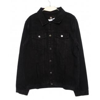 1008-1 R.Kroos куртка мужская джинсовая черная осенняя котоновая (M-4XL, 6 ед.) R.Kroos: артикул 1098212
