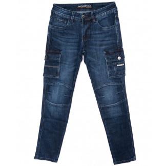 8229 Fangsida джинсы мужские молодежные с карманами осенние стрейчевые (27-34, 8 ед.) Fangsida: артикул 1098245
