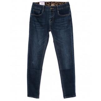 0801 Moon girl джинсы женские с царапками осенние стрейчевые (26-31, 6 ед.) Moon Girl: артикул 1098269
