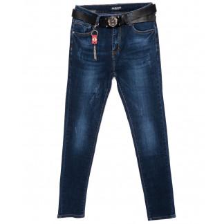 3603 Hanleby джинсы женские батальные с царапками осенние стрейчевые (28-33, 6 ед.) Hanleby: артикул 1098317