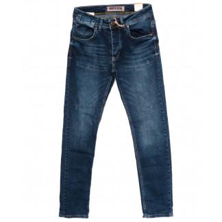 6048 Redcode джинсы мужские с царапками синие осенние стрейчевые (29-36, 8 ед.) Redcode: артикул 1098383