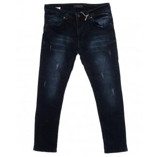 4885 Blue Nil джинсы мужские с царапками синие осенние стрейчевые (29-36, 8 ед.) Blue Nil: артикул 1098385