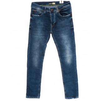 5821 Destry джинсы мужские с царапками синие осенние стрейчевые (29-36, 8 ед.) Destry: артикул 1098388