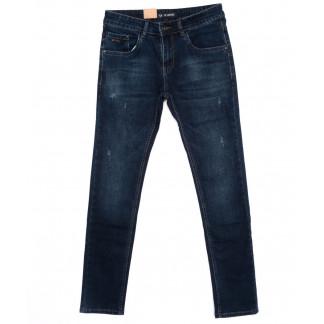 1001-X LS джинсы мужские молодежные синие осенние стрейч-котон (27-34, 8 ед) LS: артикул 1098500