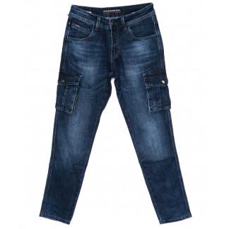 8230 Fangsida джинсы мужские молодежные с карманами синие осенние стрейчевые (28-34, 8 ед) Fangsida: артикул 1098507