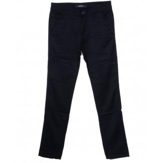 0219-2 Feerars брюки мужские темно-синие осеннии стрейч-котон (30-38, 8 ед.) Feerars: артикул 1098563