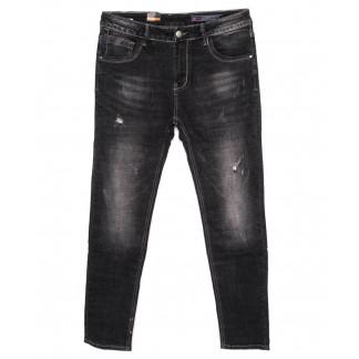 8181 Fuors джинсы мужские с царапками темно-серые осеннии стрейчевые (29-36, 8 ед.) Fuors: артикул 1098566