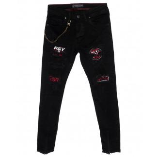 5456 Redman джинсы мужские модные черные осенние стрейчевые (29-36, 8 ед.) REDMAN: артикул 1098699