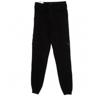 5239 Hepyek брюки женские на резинке черные осенние стрейчевые (26-29, 7 ед.) Hepyek: артикул 1098776