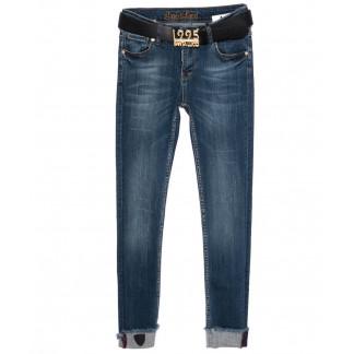 0207-428 Santa Lucci джинсы женские модные синие осенние стрейчевые (26-30, 6 ед.) Santa Lucci: артикул 1098780