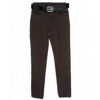 0313-482 Santa Lucci брюки женские модные коричневые осенние стрейчевые (26-30, 6 ед.) Santa Lucci: артикул 1098781
