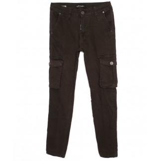 0311-482 Santa Lucci брюки женские модные хаки осенние стрейчевые (26-30, 6 ед.) Santa Lucci: артикул 1098783
