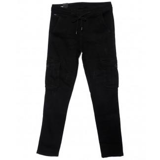 0012-0277-X LS джинсы мужские молодежные на резинке модные осенние стрейчевые (27-34, 8 ед.) LS: артикул 1098819