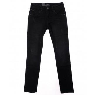 0012-0269-X LS джинсы мужские молодежные с царапками осенние стрейчевые (27-34, 8 ед.) LS: артикул 1098821