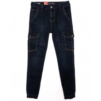 0012-0253-X LS джинсы мужские молодежные синие осенние стрейчевые (27-34, 8 ед.) LS: артикул 1098826