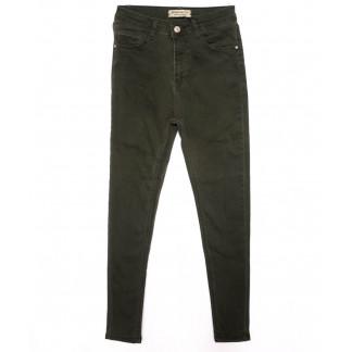 2000 Forgina джинсы женские хаки осенние стрейчевые (26-31, 6 ед.) Forgina: артикул 1098900