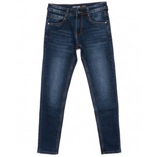 0022 Mr.King джинсы мужские молодежные синие осенние стрейч-котон (28-34, 8 ед.) Mr.King: артикул 1098913