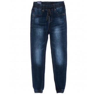 7571 Crosstyle джинсы мужские молодежные на резинке синие осенние стрейч-котон (27-34, 8 ед.) Crosstyle: артикул 1098931