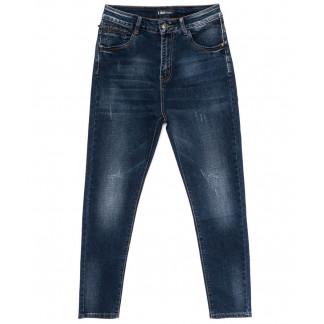 6155-2 Like джинсы женские батальные с царапками синие осенние стрейчевые (28-33, 6 ед.) Like: артикул 1098987